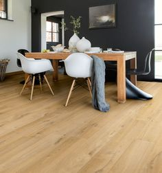 Create a sophisticated new look in your home or office with superb Quickstep Impressive Soft Oak Natural laminate flooring. Each oak effect wide plank is designed with realistic wood grain patterns. Enjoy the flooring for longer with a 25 year warranty, and in the bathroom take advantage of a 10 year water warranty*. Order your Quickstep Impressive Soft Oak Natural laminate flooring from Flooringsupplies.co.uk today.<br /><br />*To qualify for the domestic 10 year water warranty you must ...