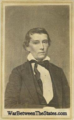 Cdv Confederate Vice President Alexander H. Stephens