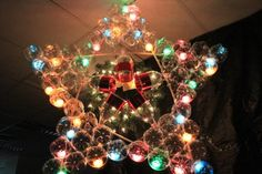 christmas decorations recycled materials   christmas decoration out of recycled materials, parol made of coke ...