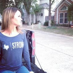 Texas Strong Women's Long Sleeve - just one of our many Men's and Women's Lifestyle Apparel options.