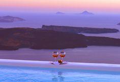 Astra Suites, Imerovigli overlooking Volcano