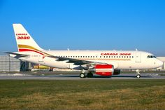Canada 3000 Airbus A319, Hamburg - Finkenwerder Air North, Canadian Airlines, Different Airlines, Commercial, Vintage Air, Air Travel, Aviation, The Past, Aircraft