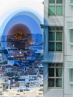 Singapore-based photographer Fong Qi Wei shoots various landscapes over a 2 to 3 hour period from the same spot and then collages the images in layers, exploring the passage of time. Time Lapse Photography, Still Photography, Digital Photography, Landscape Photography, Photography Ideas, Stunning Photography, Photography Tutorials, Quatrième Dimension, Street Art