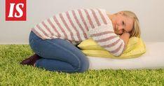 Miellyttävät ja rentouttavat asennot ovat nopea helpotus kireälle alaselälle.