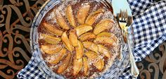 Sicilian almond, apple and ricotta cake with pecans recipe - By FOOD TO LOVE, Eleanor Ozich uses classic Mediterranean flavours to create this luxurious gluten-free cake Raw Desserts, Healthy Dessert Recipes, Baking Recipes, Cake Recipes, Healthy Treats, Healthy Eating, Cake With Pecans Recipe, Sugar Free Treats, Ricotta Cake