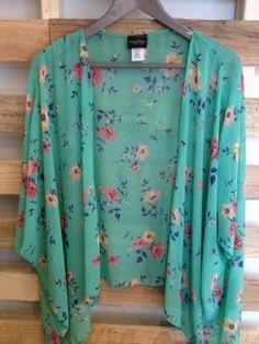 Floral Kimono Top - American Threads $39.99