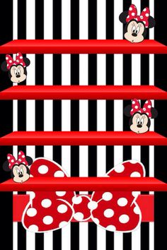 Minnie Mouse Shelf Wallpaper Mickey Mouse Wallpaper, Disney Wallpaper, Hipster Wallpaper, Screen Wallpaper, Kitty Wallpaper, Minnie Mouse Roja, Desktop Themes, Cellphone Wallpaper, Iphone Wallpaper