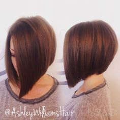 Cute a Line Stacked Bob Haircuts