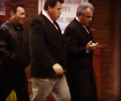 Gambino's Iggy Alogna, Bobby Boriello and John Gotti.
