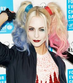 Poppy Delevingne makes being slightly crazed supervillain Harley Quinn look surprisingly chic