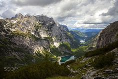 Clouds over Gosau Valley - Gosau valley, Austria