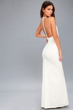 6c5a063bef Prima Donna Life White Lace Backless Maxi Dress 2 White Lace Maxi Dress