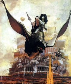 Images from Dutch sci-fi and fantasy comic series, STORM. Art by Don Lawrence who appears as the guiding cloud spirit in the first image. Sci Fi Kunst, Comic Kunst, Arte Sci Fi, Sci Fi Art, Comic Book Artists, Comic Artist, Fantasy Kunst, Fantasy Art, High Fantasy
