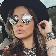 CHRISTIAN-DIOR-Sunglasses-SO-REAL-Black-Gold-Mirror-Limited-Edition-Cat-Wayfarer
