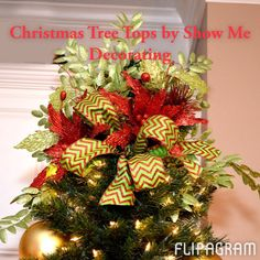 ▶ Play #flipagram Video Top your Christmas Tree with Show Me Decorating! Coupon Code TOPPER for $10 off your order at http://www.showmedecorating.com - http://flipagram.com/f/MMspmpxBWG