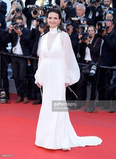 Juliette Binoche attends the 'Okja' screening during the 70th annual Cannes Film Festival at Palais des Festivals on May 19, 2017 in Cannes, France.