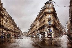 French photographer Christophe Jacrot (previously) is an absolute master when it comes to rain photography, capturing the beautiful melancholy of a rainy day in cities… Rainy Day Photography, Rain Photography, Creative Photography, Photography Tricks, Street Photography, Fashion Photography, Christophe Jacrot, Rain Pictures, Beautiful Paris