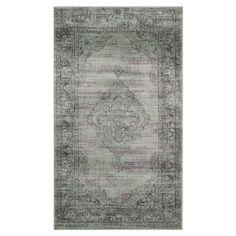 Teppich Olivia - Grau / Grün - 99 x 170 cm, Safavieh
