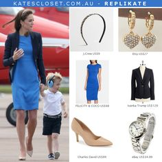 Kate Middleton, Duchess of Cambridge Outfit Inspiration. RepliKate outfit for less! Click to shop the look
