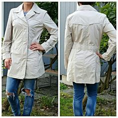 Columbia Nylon Trench Coat New without tags! Perfect lightweight trench coat that you can layer up underneath! Columbia Jackets & Coats Trench Coats