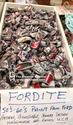 Fordite from Detroit