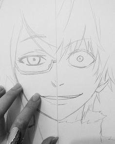 ✔ Anime Dibujos A Lapiz Tokyo Ghoul Anime Drawings Sketches, Anime Sketch, Tokyo Ghoul Rize, Manga Art, Anime Art, Dibujos Dark, Tokyo Ghoul Drawing, Manga Drawing Tutorials, Drawing Ideas
