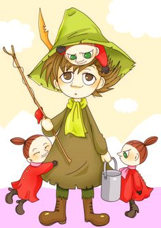 Snufkin and a couple of mymbles