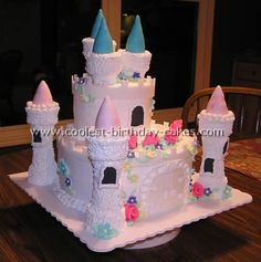 Castle Birthday Cake, I did this for Natalie's 7th birthday, turned out really good