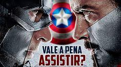 capitão america, guerra civil, vale a pena assistir? Homem de Ferro