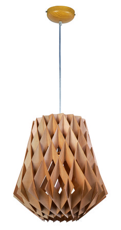 Horgen Collection's contemporary forms of ash wood, finished with a natural Uddo oil, create sculptural lighting designs sure to become the focal point of the room. The downlights enhance the beauty of the wood, while creating a unique lighting effect.