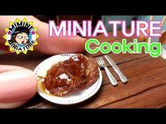 미니어쳐 진짜요리! 돈까스:D Miniature - Pork cutlet - YouTube