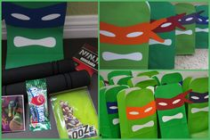 Clearly Candace: A Fin-tastic Shell-abration! Teenage Mutant Ninja Turtles party favors