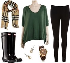 """Rainy School Day"" by grace-carter on Polyvore"