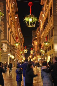 Via de Calzaioli Christmas in Florence