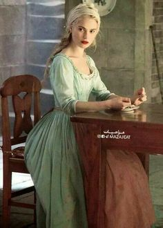 """a-khaleesi: """"Strength can come from within; this dignified strength and grace and also that in doing so she finds such joy and happiness in her life regardless of her situation."""" - Lily James on the empowerment of Cinderella Cinderella Movie, Cinderella 2015, Cinderella Makeup, Have Courage And Be Kind, Lily James, Princess Aesthetic, Movie Costumes, Period Costumes, Jolie Photo"""