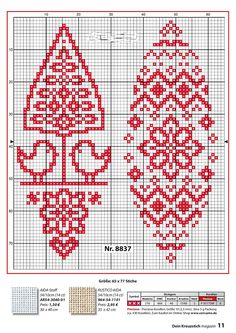 Cross Stitch Bookmarks, Counted Cross Stitch Patterns, Christmas Embroidery, Hand Embroidery, Small Cross Stitch, Swedish Weaving, Pixel Pattern, Little Stitch, Easter Cross