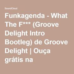 Funkagenda - What The F*** (Groove Delight Intro Bootleg) de Groove Delight | Ouça grátis na SoundCloud