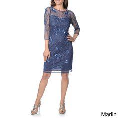 9ad7103210c Patra Women s Plum Hand-beaded Vine Embroidered Dress. overstock.com