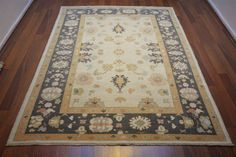 148 On Sale* New Anatolian Turkish Rug OUSHAK 5.8×7.7**175×233 ushak