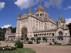 St. Therese of Lisieux Cathedral. Lisiuex, France.