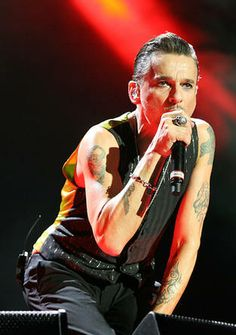 Dave Gahan of Depeche Mode.  OH those eyes!