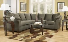 Living Room Grey Sectional Sofa And Table Coffee With Carpet The Stunning Sectional Sofa In Your House