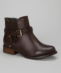5befadb3cb56 Brown Vera Ankle Boots (Bucco) Fall Winter Shoes