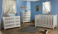 The Treviso Forever Crib and dressers.