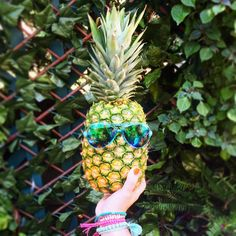 1 pair of Juicy shades + 1 delicious, juicy pineapple = the recipe for summer fun.