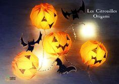 DIY citrouilles lumineuses halloween