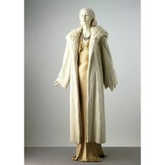 ca. 1936/ Paris, France Evening coat | Madeleine Vionnet | V&A Search the Collections