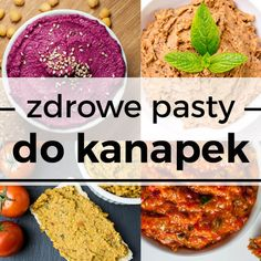 10 pomysłów na zdrowe pasty do kanapek dla dzieci i dorosłych ⋆ AgaMaSmaka - żyj i jedz zdrowo! Cooking Recipes, Healthy Recipes, Healthy Food, Chana Masala, Hummus, Nutella, Pesto, Good Food, Food And Drink