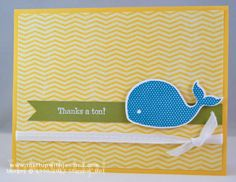 Oh, Whale! Thank You Card