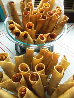 Dear everyone, these are FLAUTAS, not taquitos, not rolled tacos. They are made with meat and corn tortillas and are fried. Delicious!!